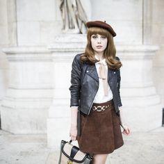 Louise Ebel - Miss Pandora pour Lancel - Sac à main