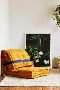 5 Ideas for Transforming Urban Outfitters' Rohini Daybed Cushion Urban Outfitters Daybed, Urban Outfitters Zimmer, Cheap Patio Furniture, Furniture Decor, Modern Furniture, Furniture Design, Futuristic Furniture, Plywood Furniture, Canapé Design
