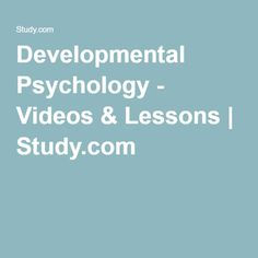 Developmental And Child Psychology subjects in highschool