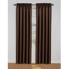 Eclipse Samara Blackout EnergyEfficient Curtain Size 42x84 Color Espresso *** You can get additional details at the image link.