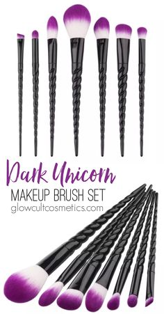 Must haves for the makeup enthusiast Prettiest glitters, shadows, highlights and lashes from www.glowcultcosme... Beautiful makeup looks Inspiration tutorial ideas organization make up eye makeup eye brows eyeliner brushes contouring lipstick highlight strobe lashes tricks Unicorn makeup brushes