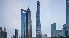 Tidak hanya memperoleh predikat terbaik dari gedung setinggi 632 meter tersebut, China juga jadi nomor satu dunia untuk kategori negara dengan pembangunan gedung pencakar langit terbanyak. #gedung #china #property