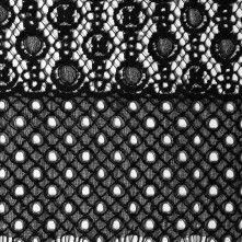 Black+Floral+Striped+Geometric+Lace