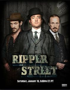 Ripper Street is a BBC mini-series set in Whitechapel in London's East End in 1889, six months after the infamous Jack the Ripper murders.