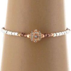 Crystal Bead Bracelet, I wear it all the time.