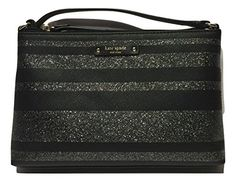 online shopping for Kate Spade New York Haven Lane Ramey Crossbody Shoulder Bag Purse from top store. See new offer for Kate Spade New York Haven Lane Ramey Crossbody Shoulder Bag Purse Kate Spade Handbags, Black Handbags, Crossbody Shoulder Bag, Crossbody Bag, Black Glitter, Cross Body Handbags, Purses And Bags, Stripes, York