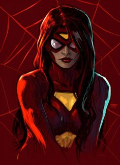 Spider-Woman by German Peralta