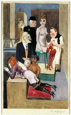 Exhibition: 'New Objectivity: Modern German Art in the Weimar Republic, at the Los Angeles County Museum of Art (LACMA) Ludwig Meidner, Modern Art, Contemporary Art, George Grosz, New Objectivity, Degenerate Art, Figurative Kunst, Art Academy, Art Graphique
