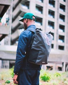The Hackney Backpack with waterproof bluesign fabric and padded internal laptop sleeve, your commuting companion #brookscyclebag