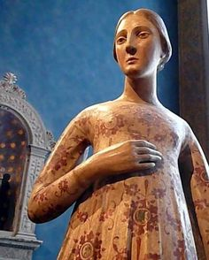 Une des plus anciennes figurines en céramique de la collection Bardini (Florence)