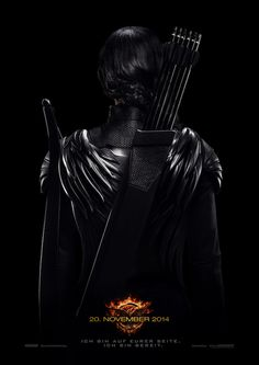 Die Tribute von Panem - Mockingjay Teil 1 Katniss back