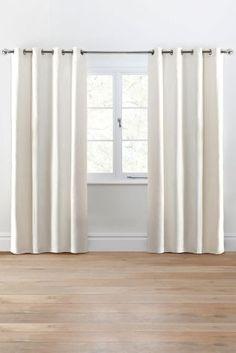 Twill Eyelet Curtains - £65 next.co.uk - dining room