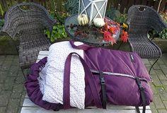 Design din egen sovepose med hank og bundplade.