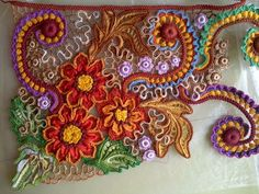 Lika.  Irish crochet. Freeform. irish crochet patterns. Motifs. Leaves…