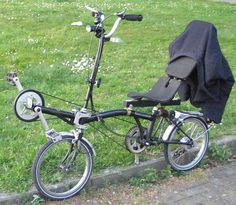 Something different...a Brompton recumbent