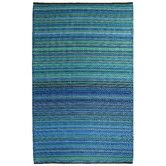 James? Found it at Wayfair - World Cancun Turquoise/Moss Green Stripe Indoor/Outdoor Rug