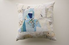 Modern patchwork pillow cover https://www.etsy.com/listing/273812212/original-patchwork-decorative-pillow