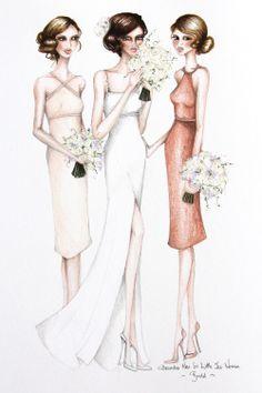 V poročni agenciji STORIJA www.storija.si obožujemo ilustracije porok...:) #poroka #organizacija_porok