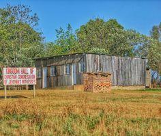 Kingdom hall in rural Mpumalanga, South Africa.
