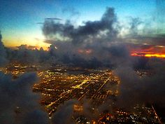 Miami from the sky.