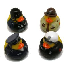 Police rubber duckies