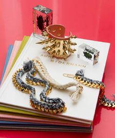 Spikes n' chains  http://thecoveteur.com/Aurelie_Bidermann