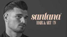 High Volume Hairstyle   Mens Modern Haircut   Santana Hair&Art®