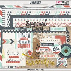 <p> Grandpa Mini Kit by Just Jaimee</p>