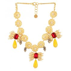 Flower Bed Necklace