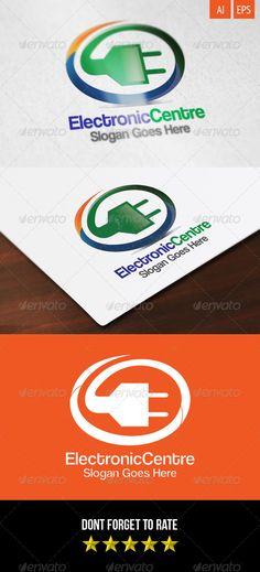 Electronic Centre  - Logo Design Template Vector #logotype Download it here: http://graphicriver.net/item/electronic-centre-logo/8295586?s_rank=887?ref=nexion