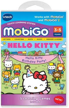 VTech MobiGo Software Cartridge - Hello Kitty #VTech Visit us at: www.BargainMarketOnline.com and check our great selection on bargain deals! 24/7 visit us today www.BargainMarketOnline.com