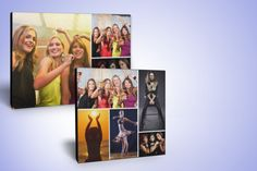 Today, we're offering you a photo montage canvas print including your choice of photos from Facebook, Instagram or your computer!