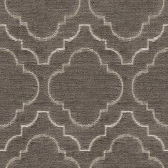 Kravet Gis Rayon and Polyester Fabric Color: Dark Grey / White Cheap Carpet Runners, Drapery Hardware, Fabric Houses, Bedroom Carpet, Grey Carpet, Fabulous Fabrics, White Houses, Grey Fabric, Luxurious Bedrooms