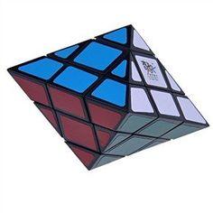 BESTSELLER! QJ Octahedron UFO Puzzle Cube Black $5.12
