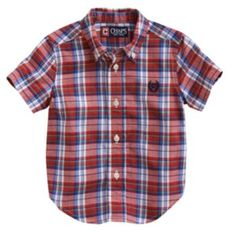 Chaps Plaid Woven Shirt - Baby