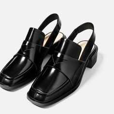 LEATHER MULE LOAFERS-NEW IN-WOMAN   ZARA United States