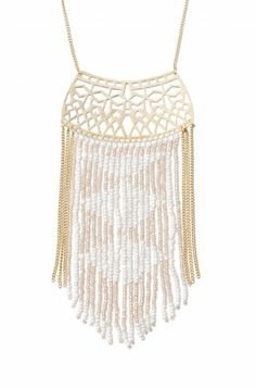 Stella & Dot Avalon Fringe Necklace buy online at www.stelladot.co.uk/naddyj