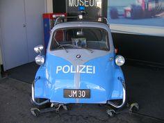 BMW Isetta Polzei @ Peter Brigg's Museum, Perth WA