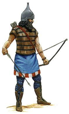 -0800 c?. Assyrian archer.