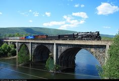 NKP 765 Nickel Plate Road Steam 2-8-4 at Mt. Union, Pennsylvania by Dave Carney
