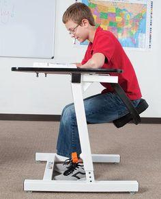 Kinesthetic Classroom Seated Swing Desk™