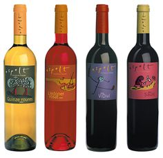 diseño vinos espelt #wine #label #prettywines