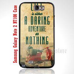 Vintage Vespa The Scooterist Adventure Samsung Galaxy Note 2 Case
