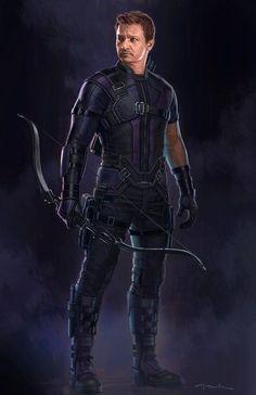 Guerra Civil – Novas artes conceituais mostram Gavião Arqueiro com uniforme ultimate! - Legião dos Heróis
