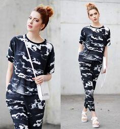Ebba Zingmark// Black and white// Fashion inspiration//