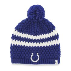 f2d48915fcb72 Indianapolis Colts Kendall Beanie Royal 47 Brand Womens Hat