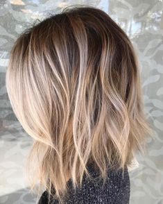 Piece-Y Collarbone Bob For Thin Hair Ombré Hair, Brown Blonde Hair, New Hair, Blonde Ombre Lob, Black Hair, Beige Blonde, Blonde Ombre Hair, Light Blonde, Natural Blonde Highlights