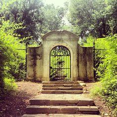 Dumbarton Oaks Park in Washington, D.C. designed by Beatrix Farrand