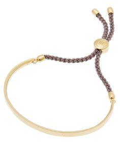 MONICA VINADER GOLD VERMEIL FIJI CORD FRIENDSHIP BRACELET. #monicavinader Carat Gold, Fiji, Fine Jewelry, Jewellery, Snug Fit, World Of Fashion, Luxury Branding, Friendship Bracelets, Cord