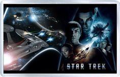 Star Trek - Plastic Fridge Magnet B